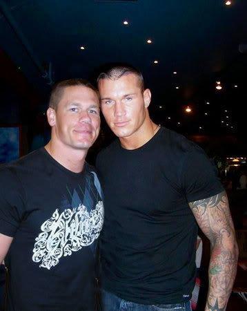 Randy Orton et John Cena