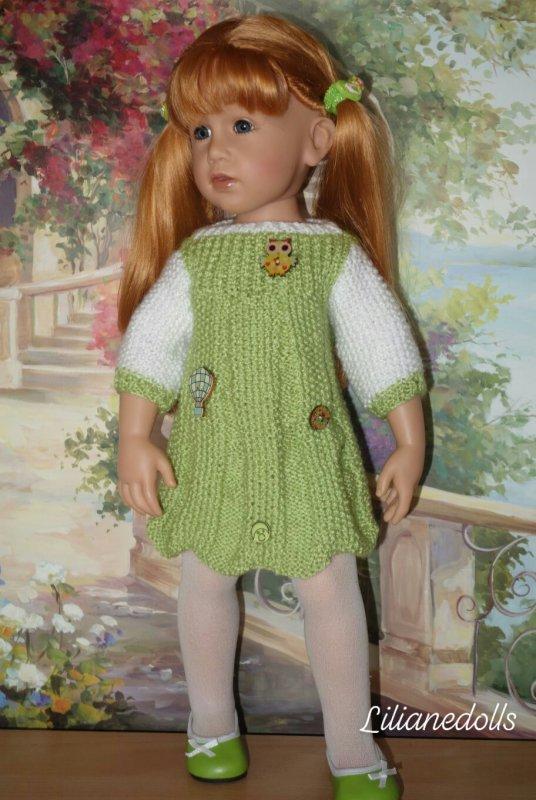 GOTZ et leurs tenues tricotées