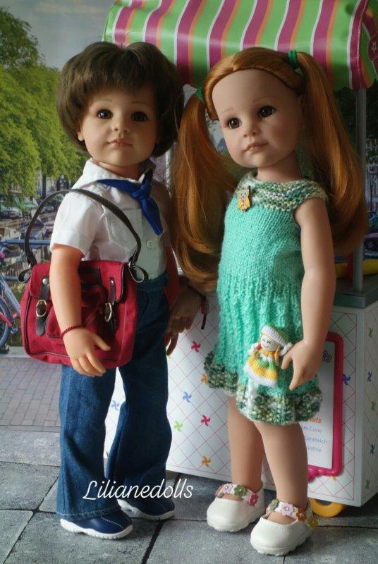 GOTZ et leurs tenues tricotées 2