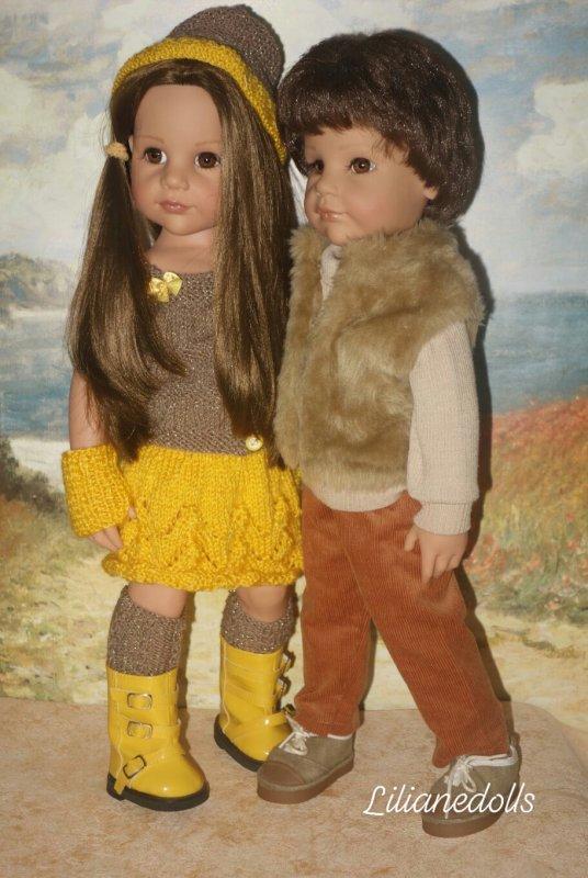 GOTZ et leurs tenues tricotées 27