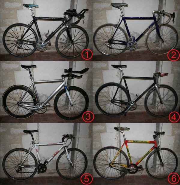 Mes six vélos, présentation