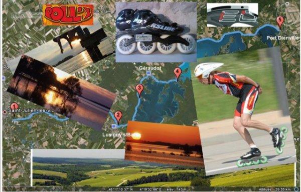 ROLLER samedi 21 mai 2011 sur les 88km de la vélovoie, 3h16' NOUVEAU RECORD !