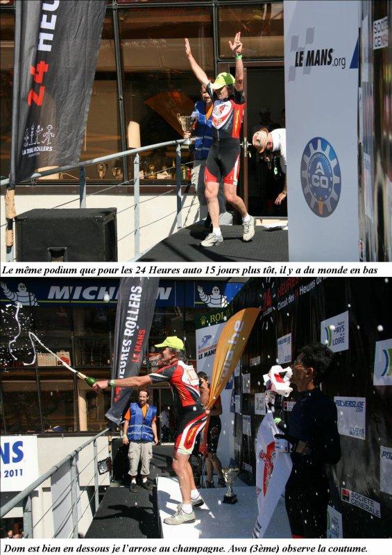 Mes 24 Heures du Mans roller 2011, une belle aventure humaine: le récit.