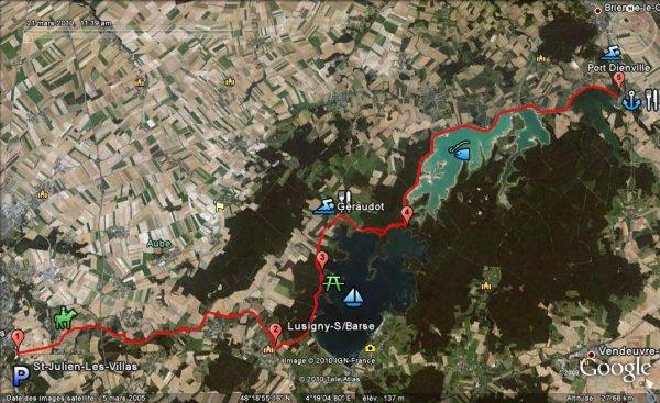 Vendredi 10 août, SECOND RECORD en une semaine sur les 88km de la vélovoie : 3h08' à 28kmh de moyenne.