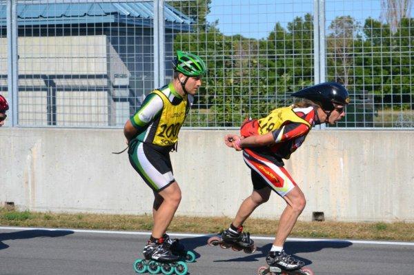 24 Heures Roller Montréal 2012 avec 607km , mon rendez-vous avec l'Histoire.