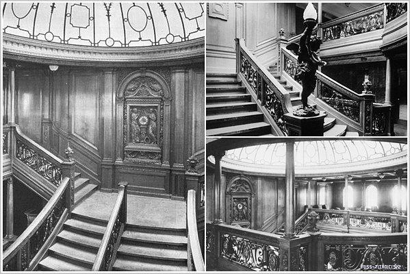Le grand & magnifique escalier du titanic !