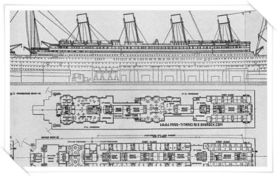 Les plans de construction du Titanic !