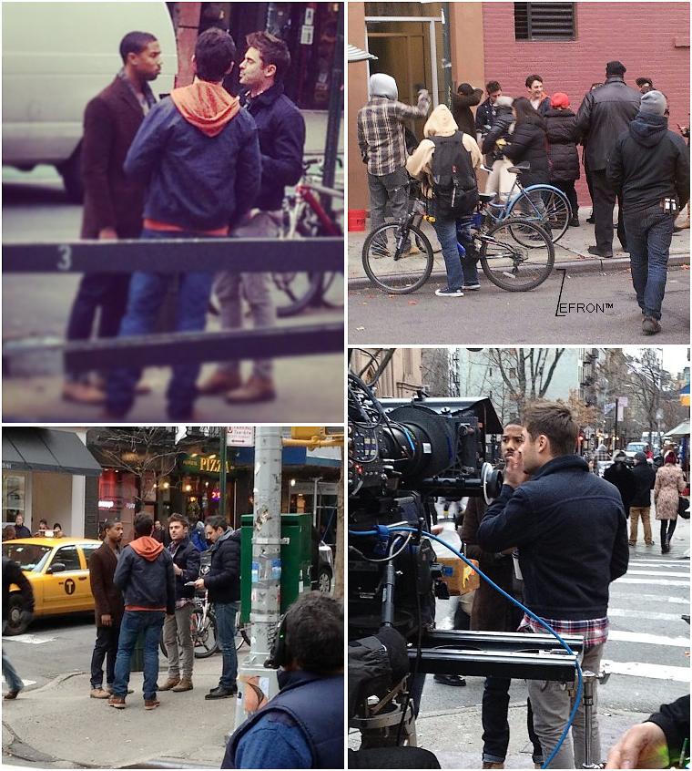 © ZEfron™  20.12.2012  - Zac et ses co-star photographier ou avec des fan's sur le tournage de AWOD? à New York .  @J: On peut dire que question news on vas être servie entre les pap's et les fan's sur le tournage! J'aime <3