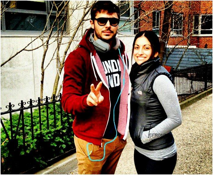 © ZEfron™  03.01.2013  -  Photo de Zac et une Fan Lors du Mariage de Evelina Turan en 2012.