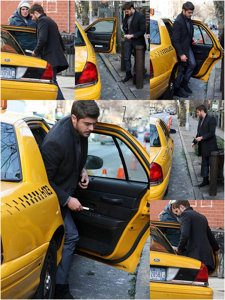 © ZEfron™  03.01.2013  -  Zac de retour sur le tournage d'AWOD? dans les rues de New York.  @J: Toujours aussi classe, je me languis de voir le rendu de ce film...