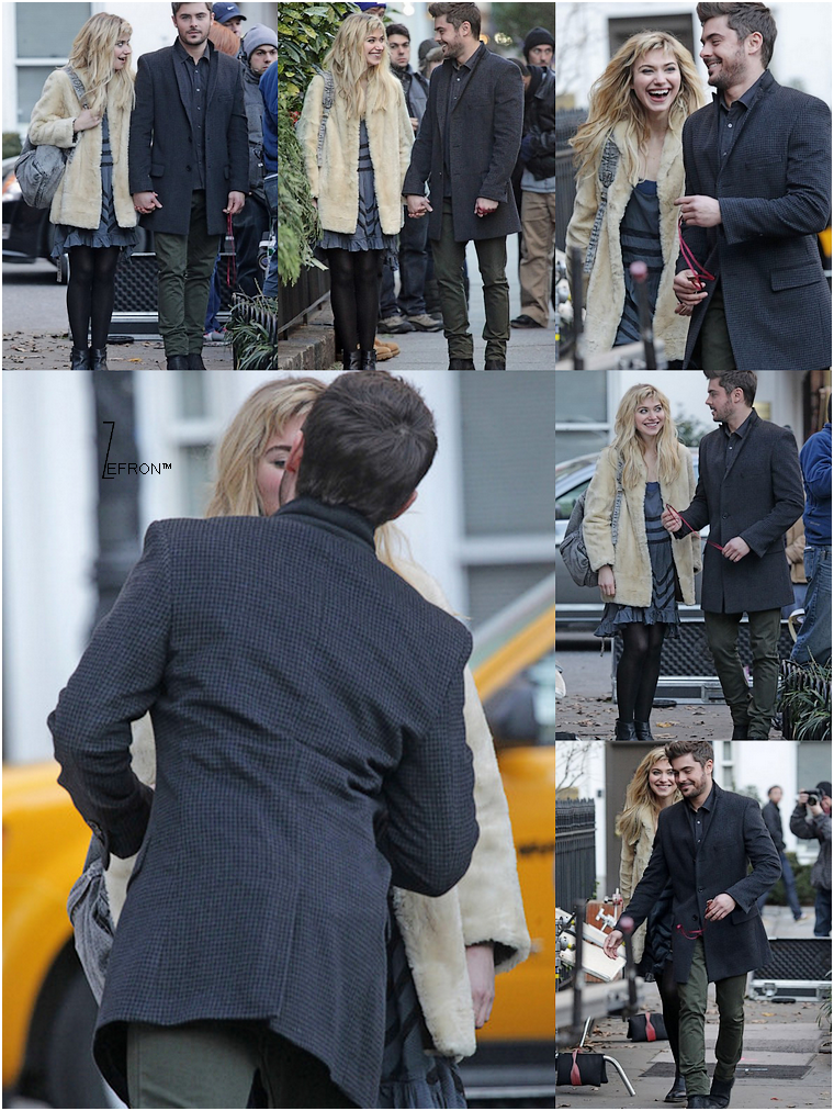 © ZEfron™  07.01.2013  -  Zac encore et toujours sur le set d'AWOD? à New York @J: Obliger de faire un nouvel article, tellement les photos fuse aujourd'hui ^^