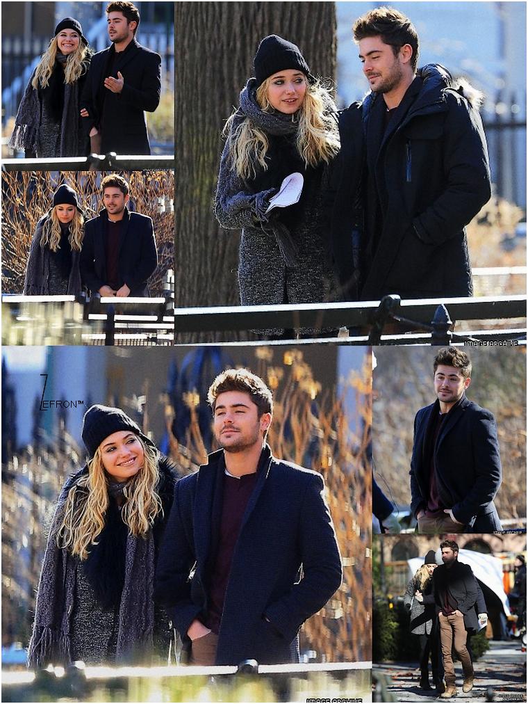 © ZEfron™  18.01.2013  -  Zac et Imogen de retour dans les rues de New York pour le tournage d'AWOD.   @J: Désoler pour le retard de news, malade ce weekend :/ (mise à jour le 21/01/2013)