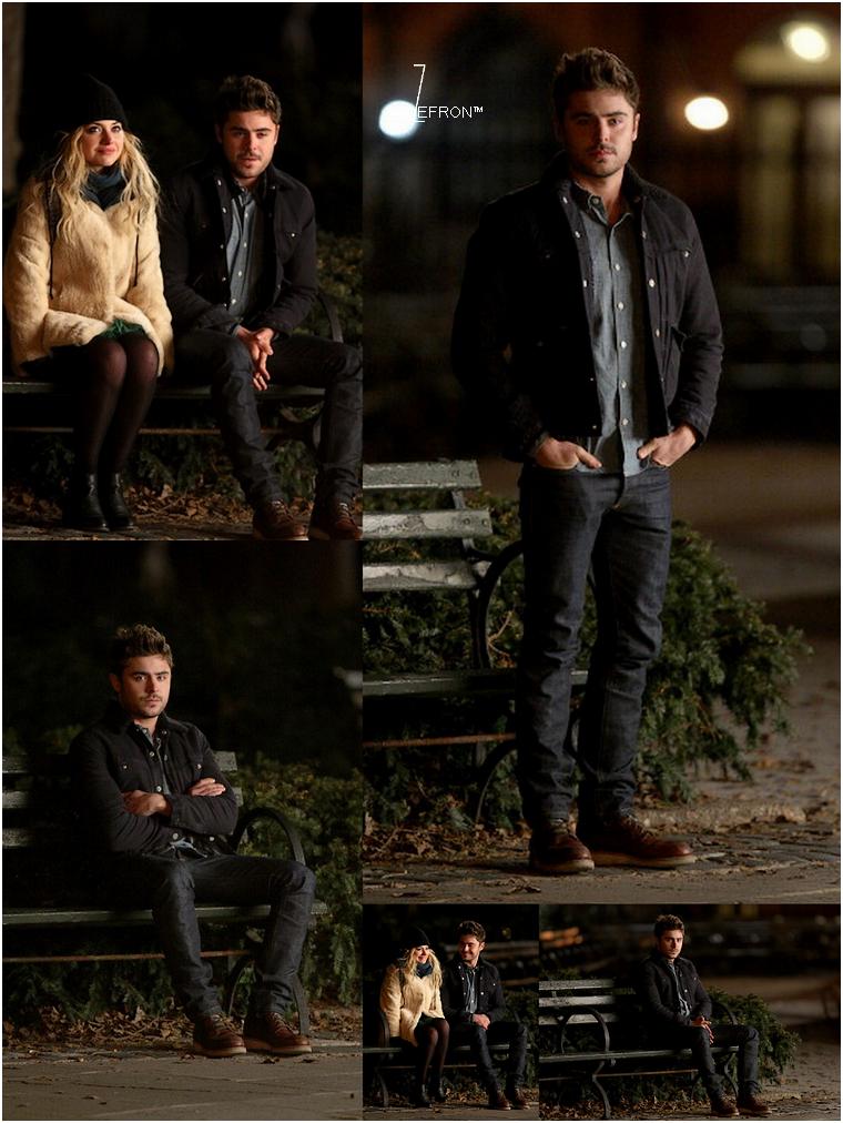 © ZEfron™  19.01.2013  -  Zac et sa co-star Imogen, sur le set d'AWOD? pour quelque scène de nuit à New York.   @J: Désoler pour le retard de news, malade ce weekend :/ (mise à jour le 21/01/2013)