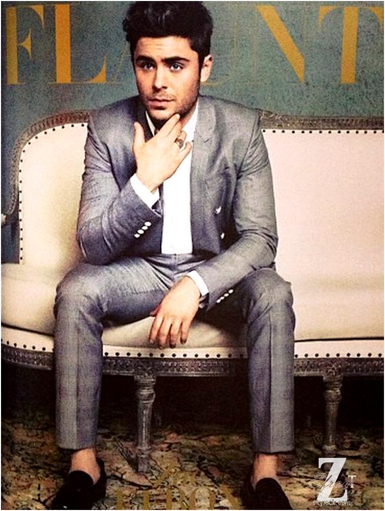 © ZEfron™  07.03.2013  - Zac toujours sans chaussette,  habiller Dior pour le magazine FLAUNT: The Mercenary Issue.  @J: Simplement beau, totalement HOT comme on aime <3 Vivement les photos HQ du shoot complet...