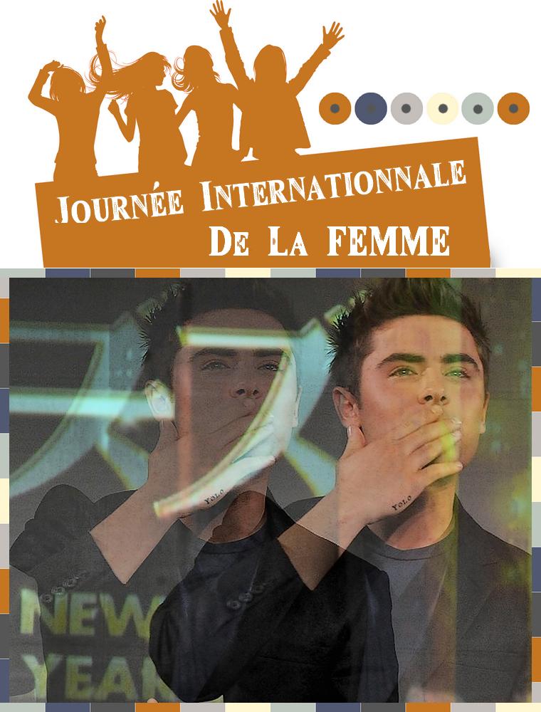 © ZEfron™ - 08.03.2013 // Journée Internationnale de la Femme Un Kiss pour vous en cette journée spéciale Girly <3 Chaque commentaire = un lien (STOP)