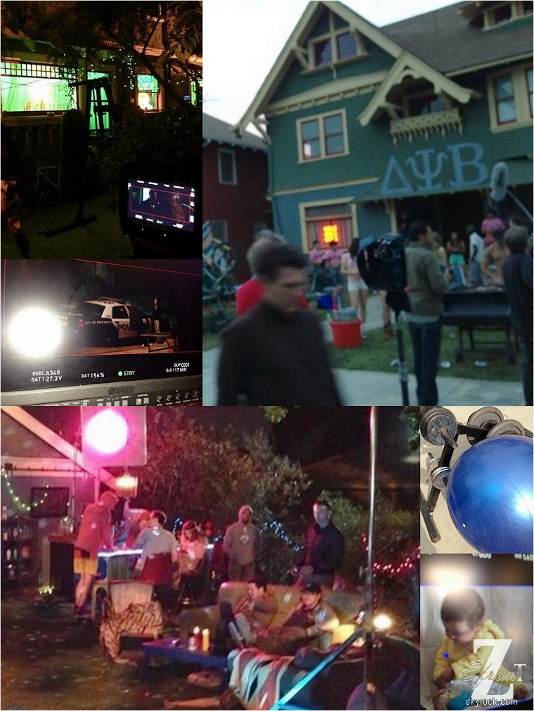 © ZEfron™  27.05.2013  -  Zac Efron, Frome Here to Fraternity - Souvenir de 2 mois de tournage à Los Angeles .