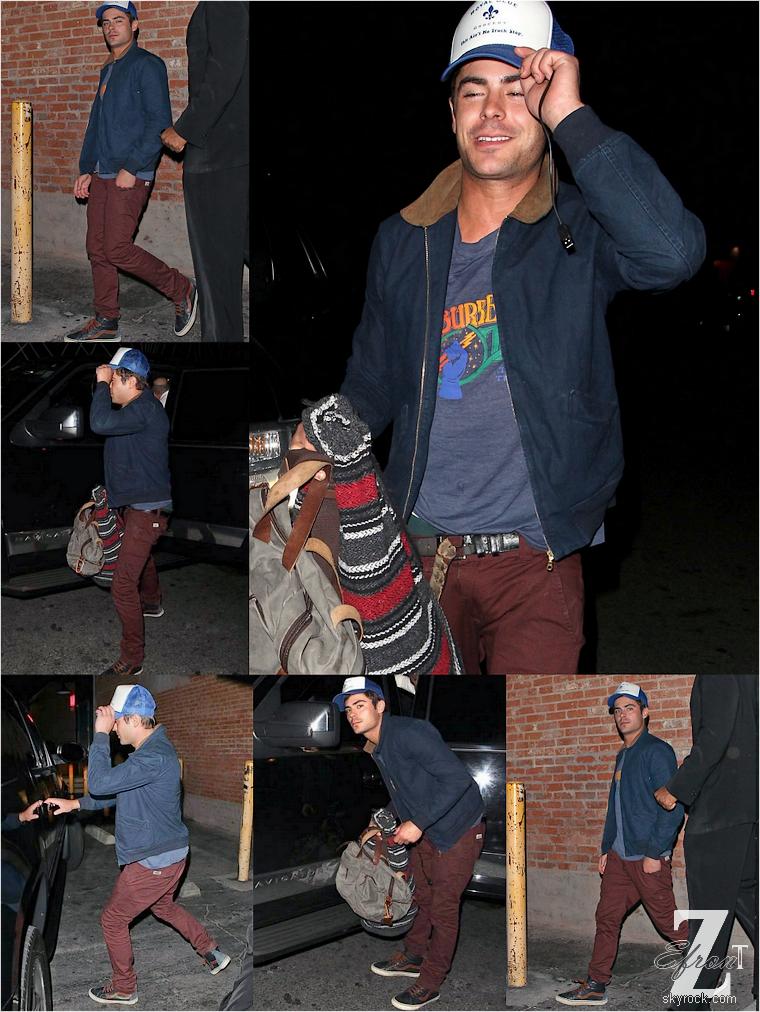 © ZEfron™  26.05.2013  -  Zac Efron de sortie de la boite de nuit Eden à Los Angeles pour fêter la fin du tournage avec ses co-star.  @V: les paps ont retrouvés Zac, enfin.