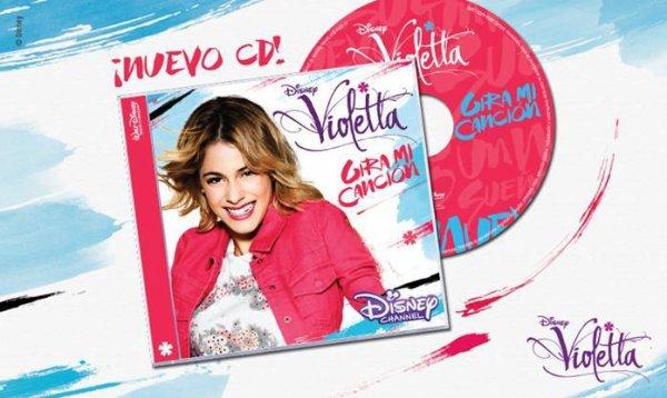 le nouveaux CD de violetta3 sortira lundi en france !!!