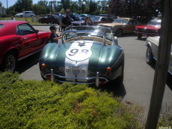 Rassemblement de Ford Mustang et AC Cobra Conflans Ste Honorine (78)