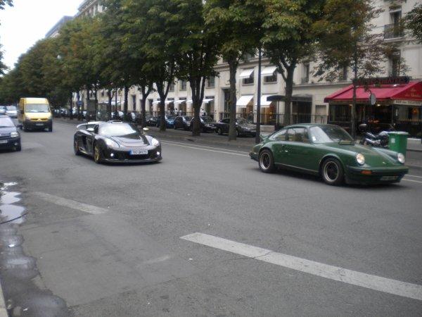 Gemballa Mirage GT, Porsche 911 Av Montaigne (75)