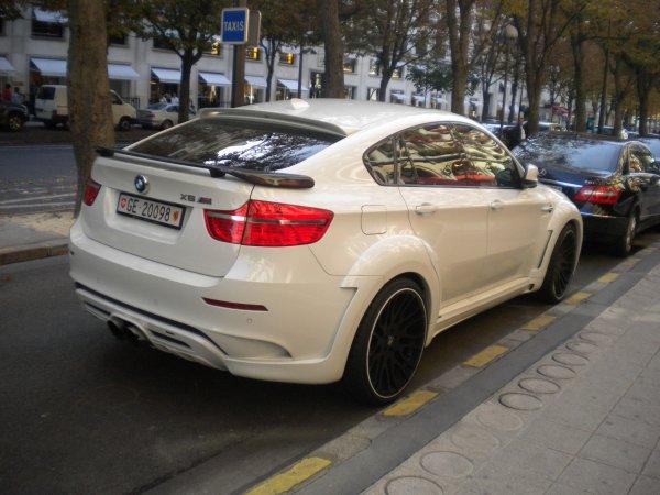 BMW X6M Hamman Evo Tycoon Av Montaigne (75)