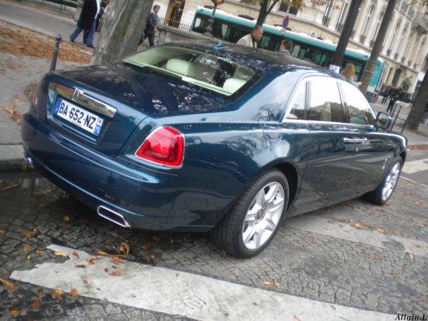 Rolls Royce Ghost Av Montaigne(75)