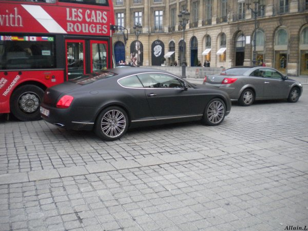 Bentley Continental GT Speed Place Vendome (75)