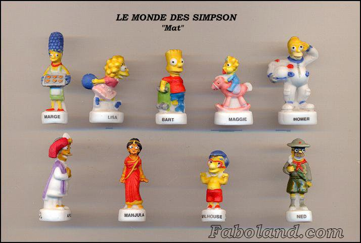 Le monde des Simpson, mat