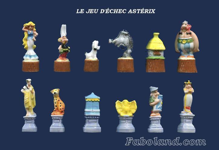 Le jeu d'échecs Astérix 2014