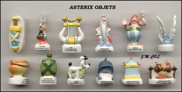 ASTERIX OBJETS 1998