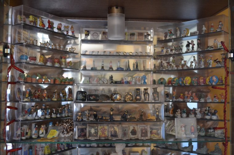 Une partie des séries en expo, total 1463 et c'est plein ici !