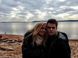 Paul et Claire lors du tournage de la saison 4