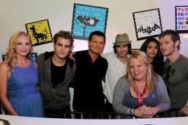 Toute l'équipe de The Vampires Diaries