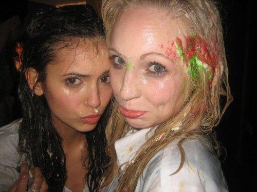 Nina and Candice