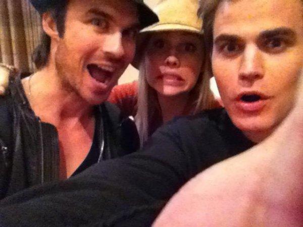 Ian, Claire et Paul