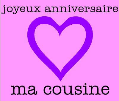 Joyeux Anniversaire En Retard Blog De Cousinesenfolies