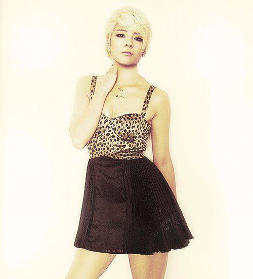 Amber en robe