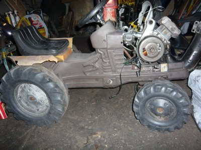 proto tracteur a moteur peugeot 103. Black Bedroom Furniture Sets. Home Design Ideas