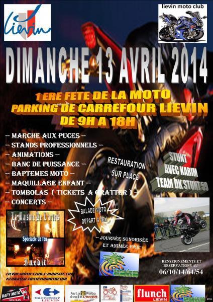 1er fête de la Moto à Liévin
