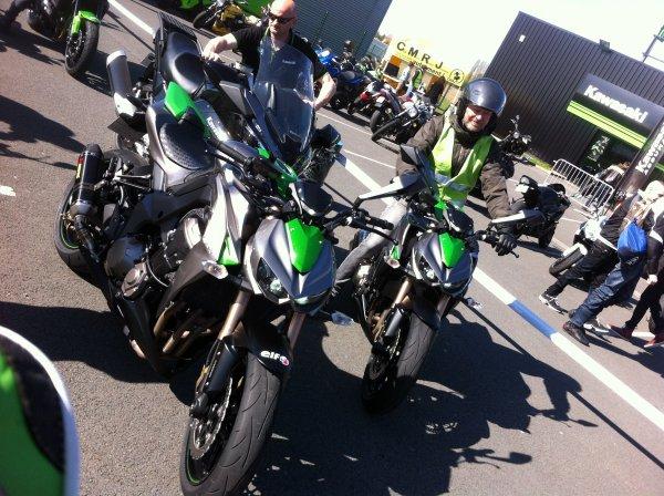 Essai de la Z1000 2014 !!!
