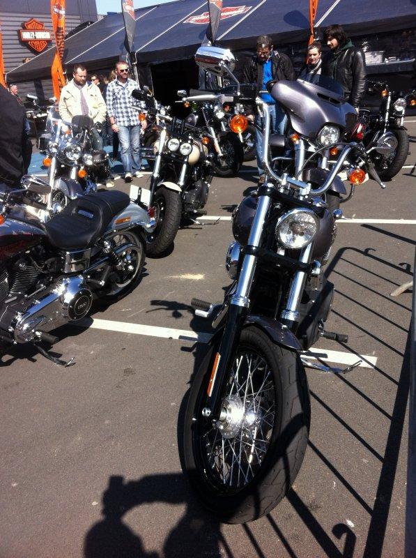 Essai de l' Harley Davidson Street Bob
