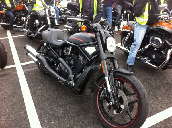 Essai de l'Harley Davidson V-ROD Night Rod