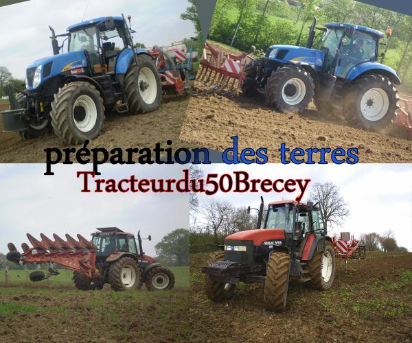 préparation des terres chez ( Tracteurdu50Brécey )