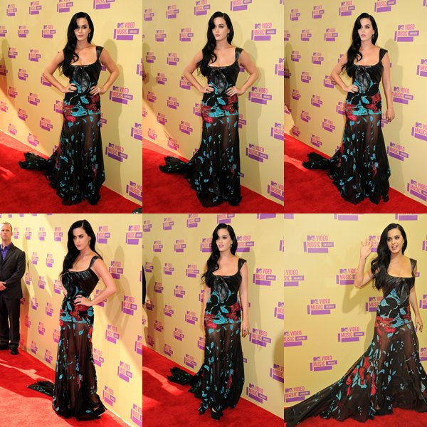 • 06/09/12 - Katy Perry était présente au Staples Center pour la cérémonie des MTV Video Music Awards 2012.