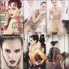 Emma posant pour le magasine Vogue Us.