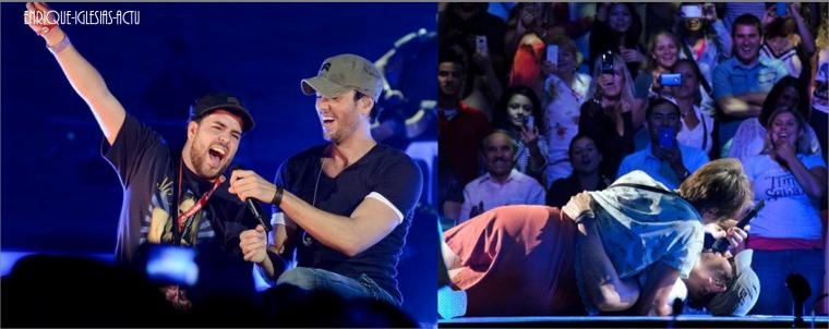 Enrique Jlo Tour au Mohegan Sun (26 juillet 2012)