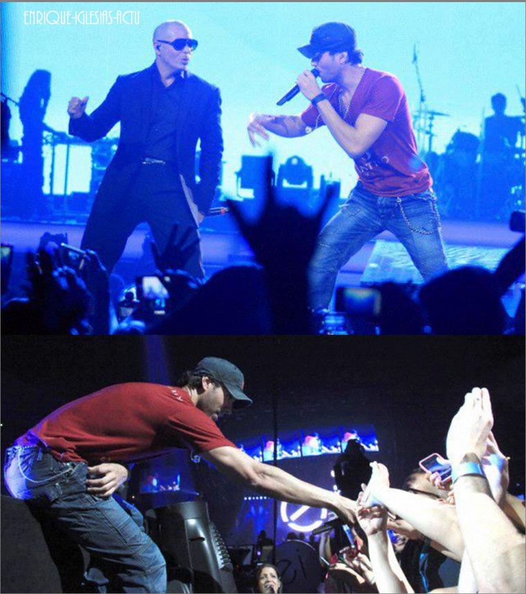 Enrique Jlo tour à Anaheim (11 août 2012)