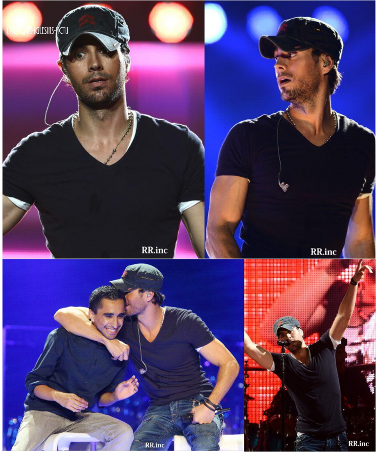 Enrique & JLO Tour à Los Angeles (Le 16 aout 2012)