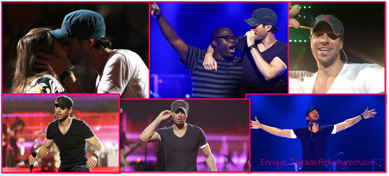 Enrique Jlo tour à Houston (26 août 2012)
