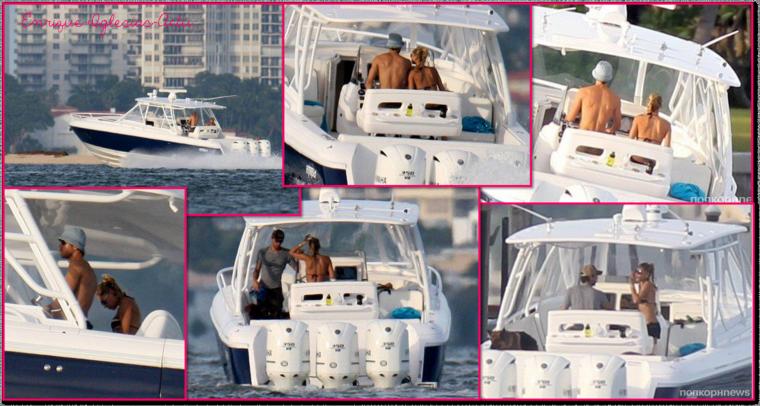 Enrique & Anna en bateau (31 Août 2012)